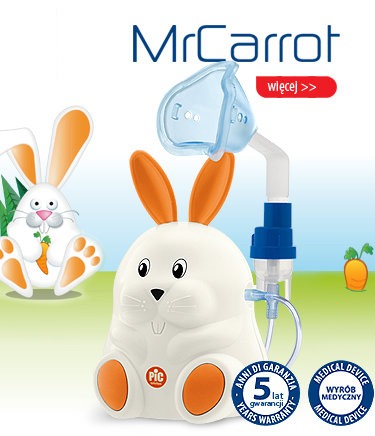 inhalator Mr Carrot