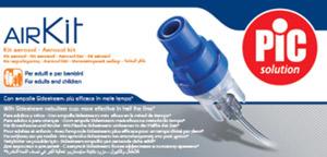 Sidestream nebulizator i akcesoria